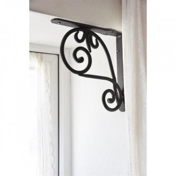 Jeanne d´Arc living Metallfries Corner frieze Dark Braun Shabby Vintage
