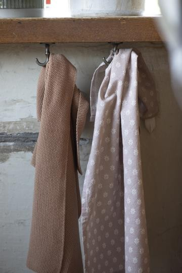 IB Laursen Küchehandtuch Rosa Muster Baumwolle Shabby Vintage Landhaus