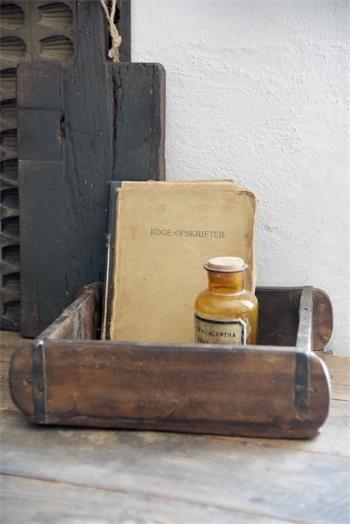 Jeanne d arc Living Ziegelform Pflanzkasten Holz Shabby Vintage Deko Quadrat