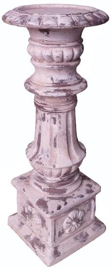 Kerzenständer Kerzenleuchter Betonguss Glas Shabby Vintage Landhaus Klein