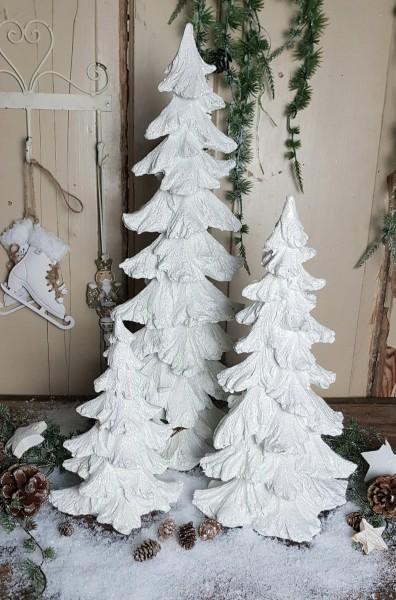 Weihnachtsbaum Weiß Landhaus Shabby Vintage Weihnachten Deko 3 Größen