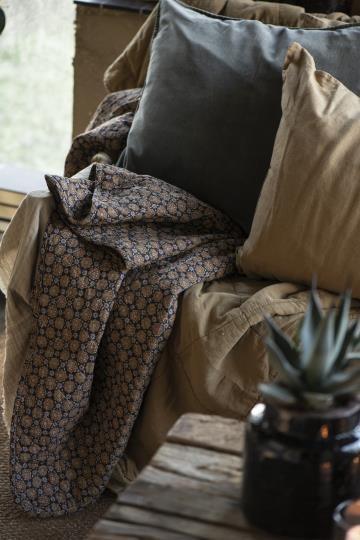 Ib Laursen Plaid Decke Herbst Quilt gefüttert Paisley 130*180 Tagesdecke Nr. 3