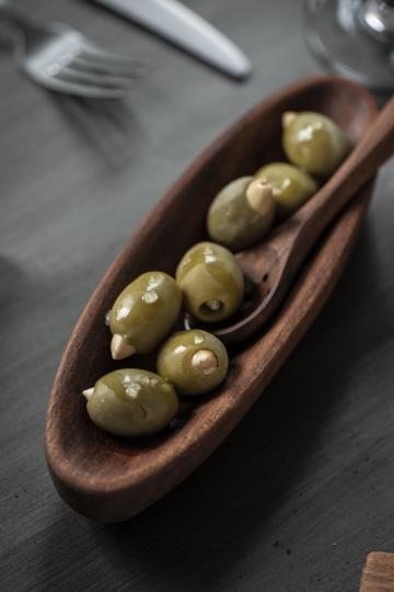 Ib Laursen Olivenlöffel Olive Holz Vintage Küche Boho Landhaus Deko