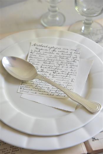 Jeanne d' arc living Teller Signature Dessertteller Porzellan Creme