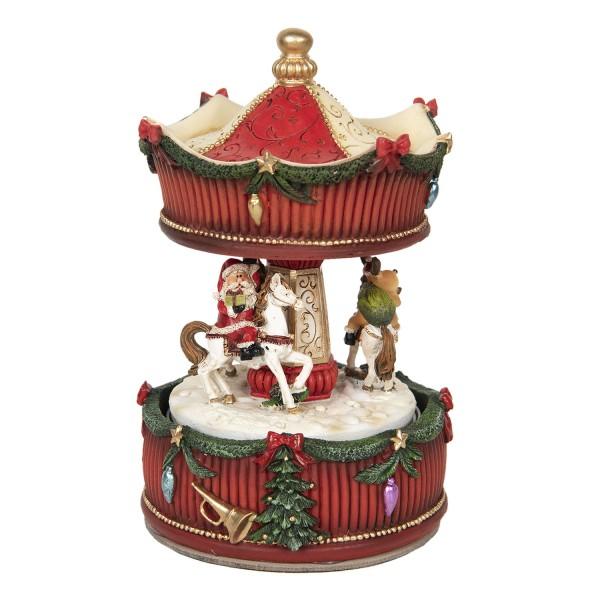 Spieluhr Weihnachten Jahrmarkt Karussel Vintage Nostalgie Landhaus