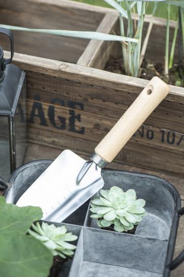 IB laursen Pflanzenhalter Korb Metall Zink Garten Vintage Frühling Deko