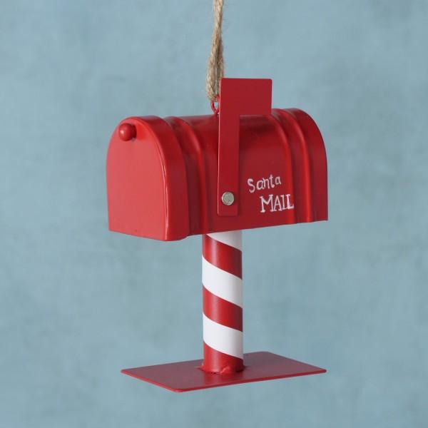 Dekoanhänger Rot Letters Weihnachten Shabby Vintage Nostalgie Weihnachtsdeko Groß