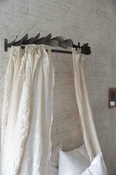 Jeanne d`Arc Living Betthimmel/Bettkrone Metall Landhaus Shabby Vintage