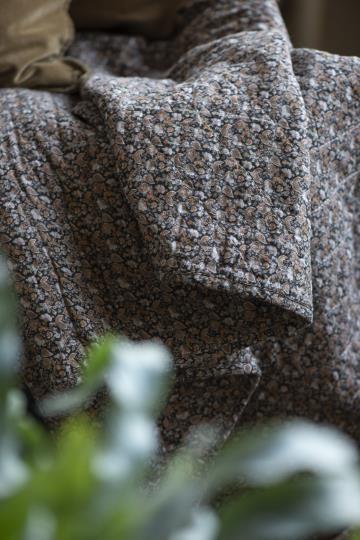 Ib Laursen Plaid Decke Herbst Quilt gefüttert Paisley 130*180 Tagesdecke Nr. 1