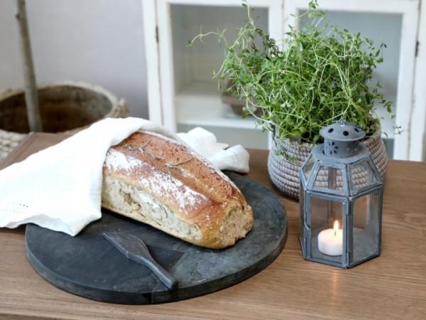 Laterne Windlicht Kerzenständer Metall Antikzink Shabby Vintage Landhaus 6eck
